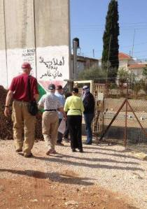 Abu Nidal's gate (photo credit Ann Gary)